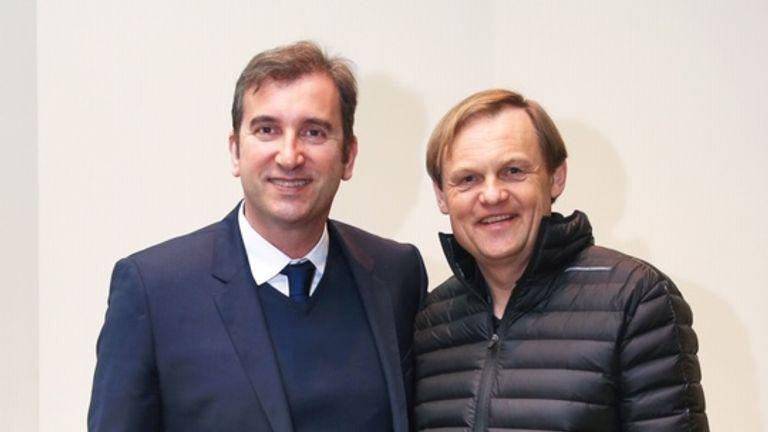Ferran Soriano and Bjorn Gulden