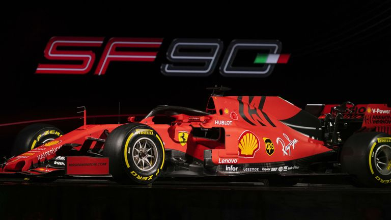 Ferrari In Red And Black As They Launch New 2019 Formula 1 Car F1 News