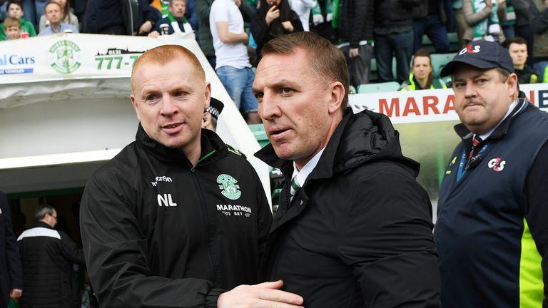 Neil Lennon took over from Brendan Rodgers as Celtic boss on Tuesday