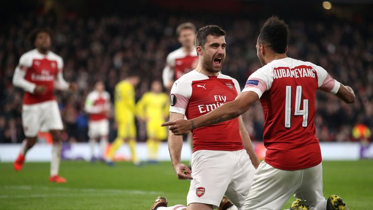Arsenal beat BATE 3-1 on aggregate to reach the last 16