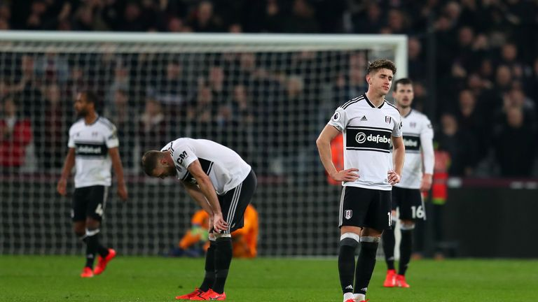Fulham have won just four matches in the Premier League this season