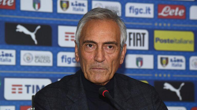 Gabriele Gravina, FIGC President