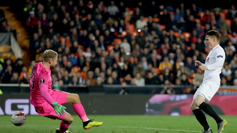 Kevin Gameiro sealed Valencia's progress with their winner on 69 minutes
