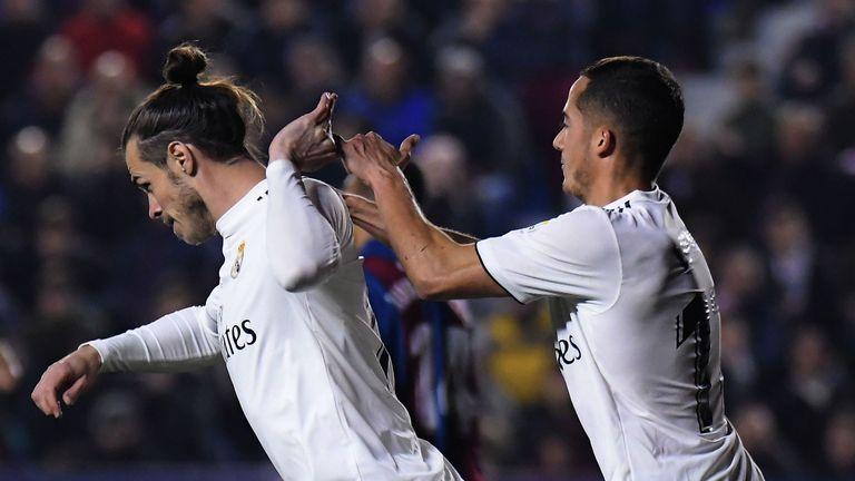 Gareth Bale refused to celebrate with Lucas Vasquez