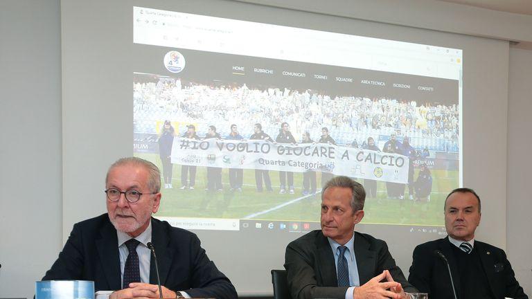 Serie C President Fracesco Ghirelli