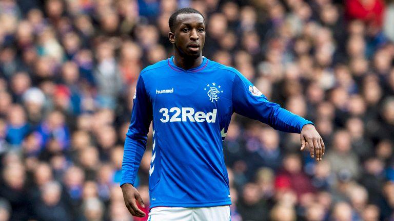 Glen Kamara in action for Rangers