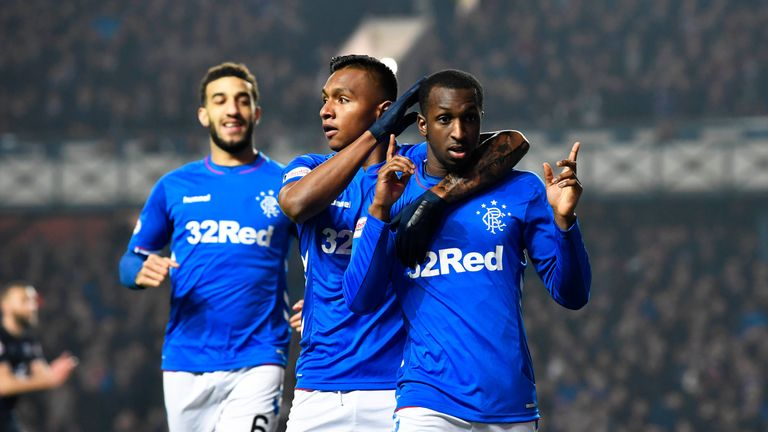 Kamara scored against his former club at Ibrox on Wednesday