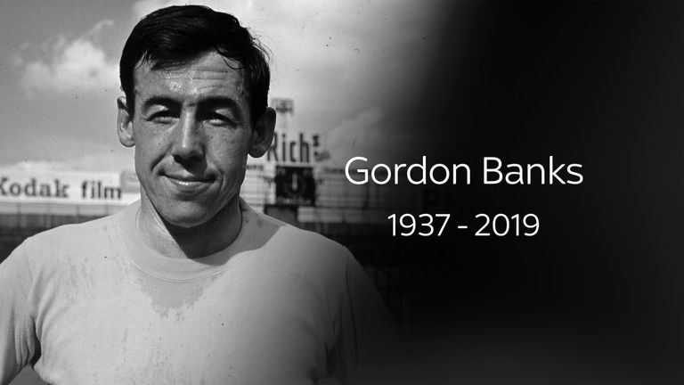 Winning goalkeeper Gordon Banks dies aged 81