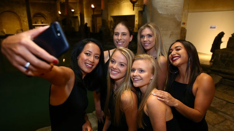 Watson has been an ever-present for the Great Britain Fed Cup team