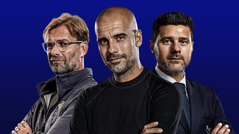 Where will Jurgen Klopp, Pep Guardiola and Mauricio Pochettino be on the opening weekend?