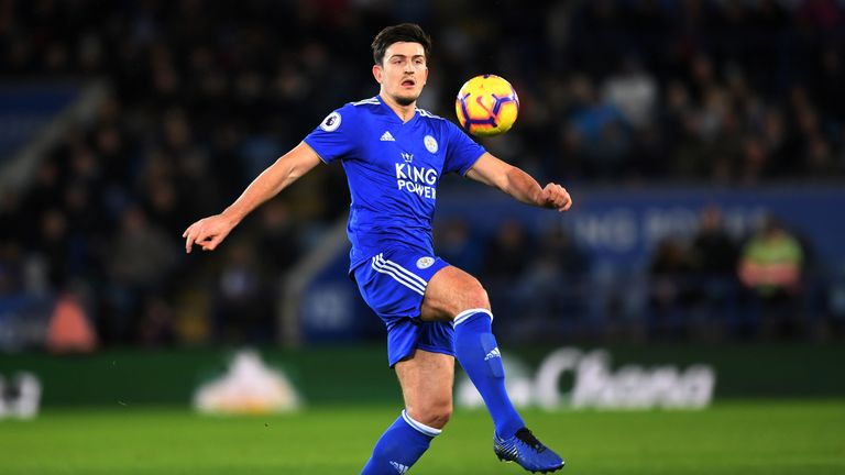 Harry Maguire has scored three Premier League goals for Leicester this season