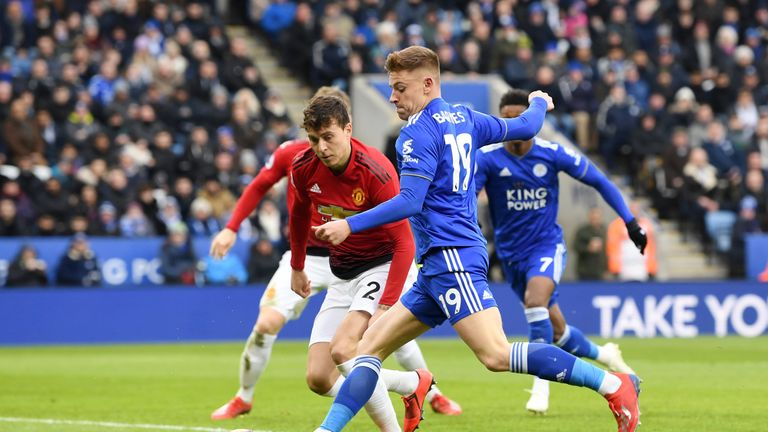Leicester did well in the second half, but could not force a point against Man Utd