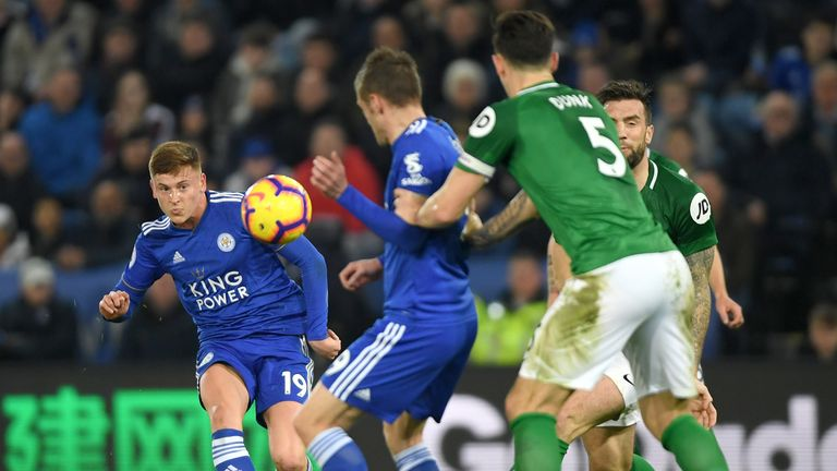 Harvey Barnes (pictured), James Maddison and Demarai Gray are among a group of young talents at Leicester