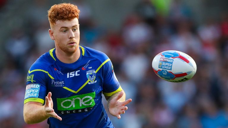 Harvey Livett has been drafted into the Warrington squad to face Hull KR