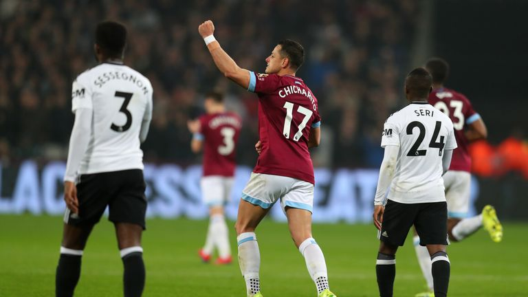 Javier Hernandez scores equaliser with his hand in West Ham win over Fulham | Football News |