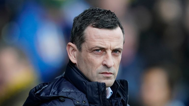 Former St Mirren boss Jack Ross has been in charge at the Stadium of Light since May 2018
