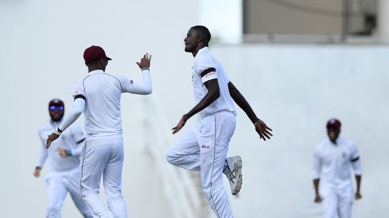 Watch the best of the action from day three of the second Test between Windies and England in Antigua