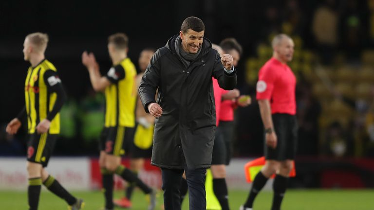Watford are level on points with seventh-placed Wolves