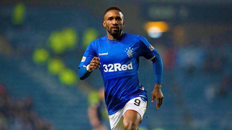 Jermain Defoe scored for Rangers versus Dundee