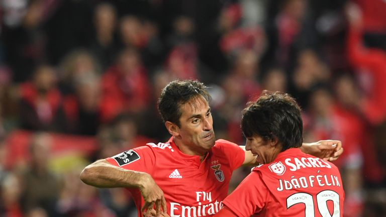 Jonas' goal helped Benfica on their way