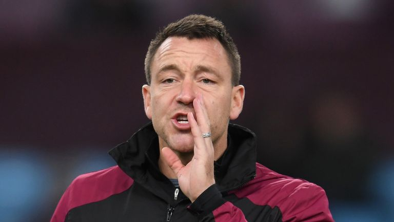 Villa assistant coach John Terry has been a big influence on Abraham and Mings