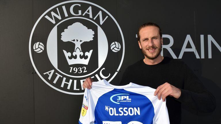 Jonas Olsson has joined from Djurgardens IF in Sweden