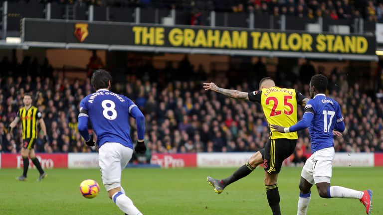 The source of Zouma's angered appeared to lie with Jose Holebas' shot