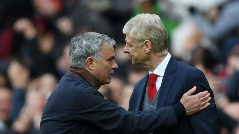 Peace at last between Mourinho and Wenger