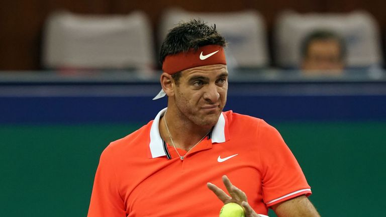 Del Potro has been plagued with injury for much of 2019