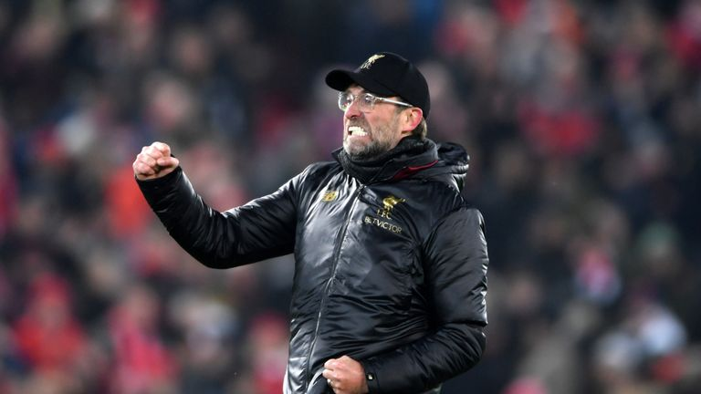 Jurgen Klopp's Liverpool are one of three teams in a fascinating title race