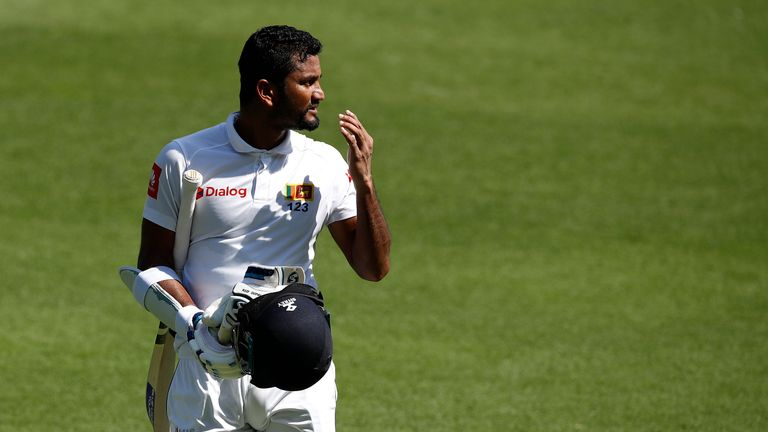 Dimuth Karunaratne will captain Sri Lanka on their upcoming tour of South Africa