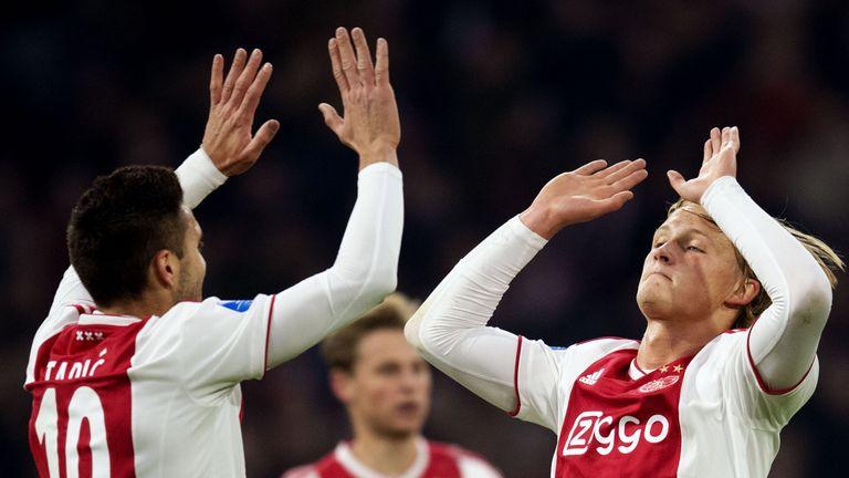 Kasper Dohlberg and Dusan Tadic were both on target