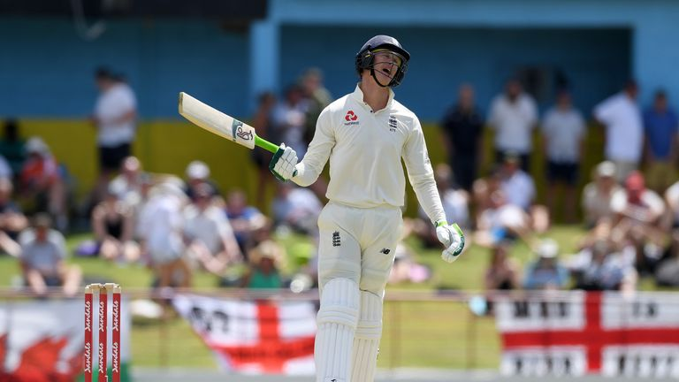 Keaton Jennings scored eight and 23 in his two innings after being recalled