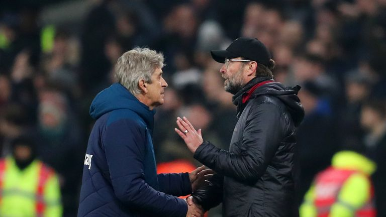 Klopp and Pellegrini