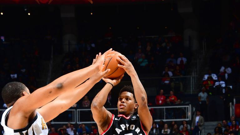 Kyle Lowry scored a game-high 22 points for Toronto