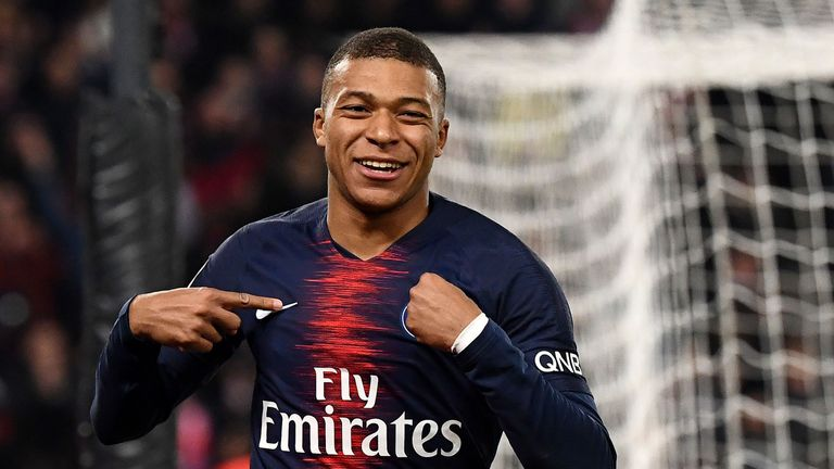 Paris St-Germain 5-1 Montpellier: Kylian Mbappe scores in PSG victory