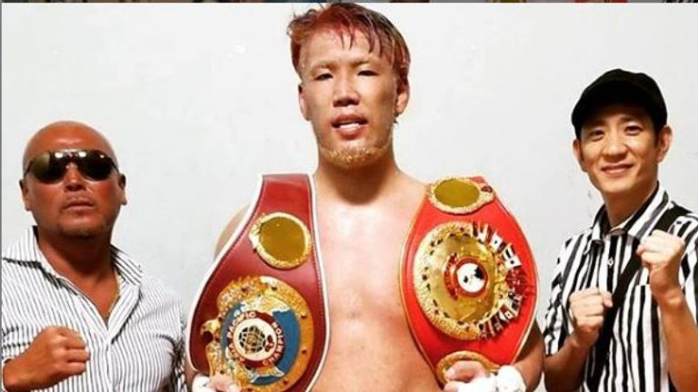 Fujimoto has boosted his WBO ranking (pic courtesy of Kyotaro Fujimoto's official Instagram)