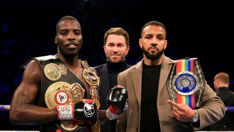 Lawrence Okolie faces Wadi Camacho on March 23, live on Sky Sports