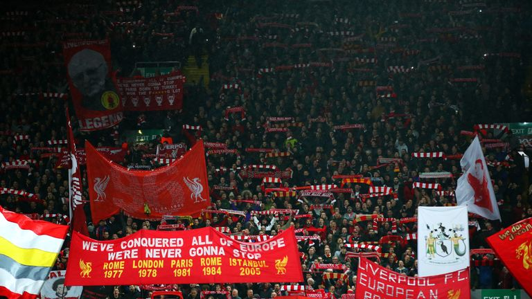Liverpool fans, Anfield