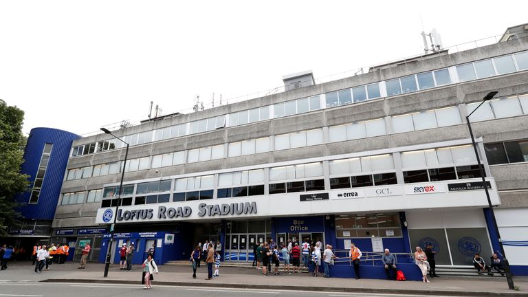 Loftus Road is one of the smallest stadiums in the Sky Bet Championship