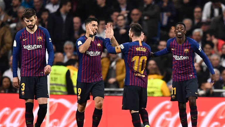 Lionel Messi allowed Luis Suarez to take the penalty, potentially thinking the Uruguayan was on a hat-trick