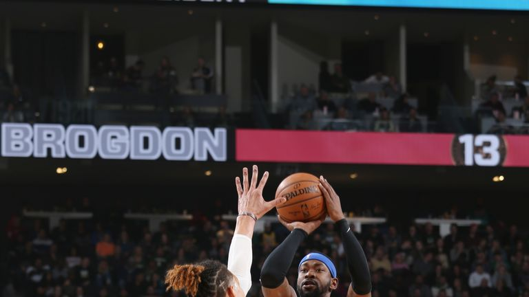 MILWAUKEE, WI - FEBRUARY 9:  Terrence Ross #31 of the Orlando Magic shoots the ball against the Milwaukee Bucks on February  9, 2019 at the Fiserv Forum Center in Milwaukee, Wisconsin. NOTE TO USER: User expressly acknowledges and agrees that, by downloading and or using this Photograph, user is consenting to the terms and conditions of the Getty Images License Agreement. Mandatory Copyright Notice: Copyright 2019 NBAE (Photo by Gary Dineen/NBAE via Getty Images).
