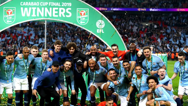 Manchester City have won the Carabao Cup for the last three seasons