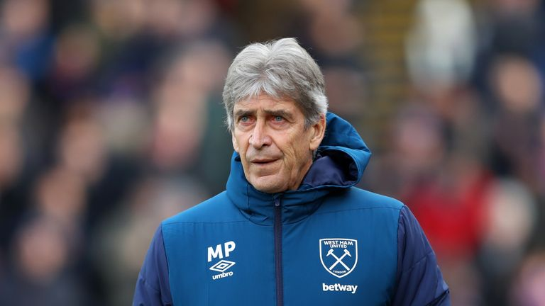 West Ham boss Manuel Pellegrini has praised Rice's form