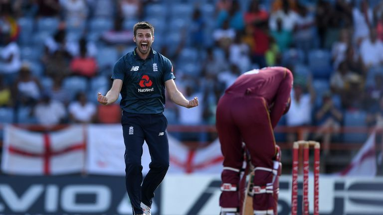 Mark Wood performed well in the ODIs against Windies