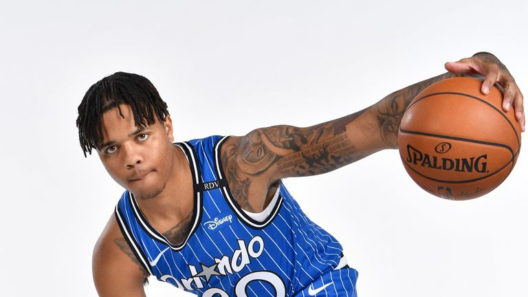 Markelle Fultz arrived in Orlando as part of the trade that took Tobias Harris to the 76ers