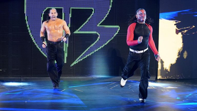 The Hardy Boyz will go down as one of the greatest tag-teams in WWE history
