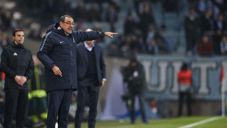 Maurizio Sarri says Chelsea played their football in Malmo victory | Football News |