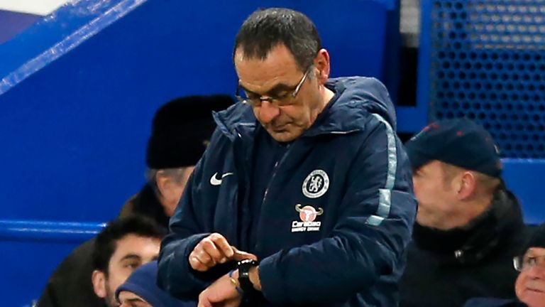 Time up for Maurizio Sarri? Faith is fast fading in the Chelsea coach
