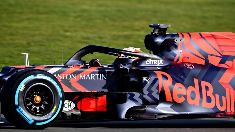 Red Bull unveils its first Honda-powered F1 car